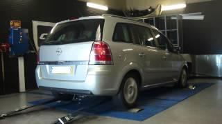 * Reprogrammation Moteur * Opel Zafira cdti 150cv @ 173cv dyno Digiservices Paris