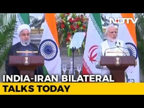 India-Iran Sign 9 Agreements, Focus On Chabahar Port