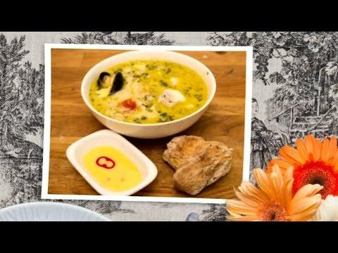 Varmrätt: Jazzfiskarens mustiga soppa - Halv åtta hos mig (TV4)
