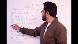 Paper Discussion 9 | NEET MDS 2019