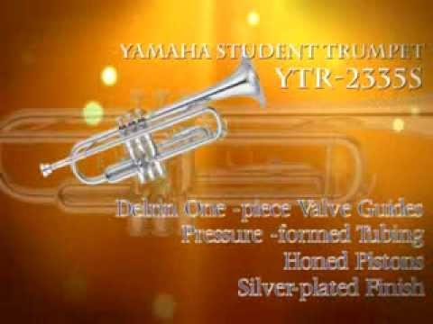YAMAHA YTR 2335S STANDARD Bb STUDENT TRUMPET,  459