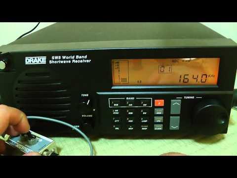 Posso sentire 164kHz Mongolia Radio? / Drake SW8