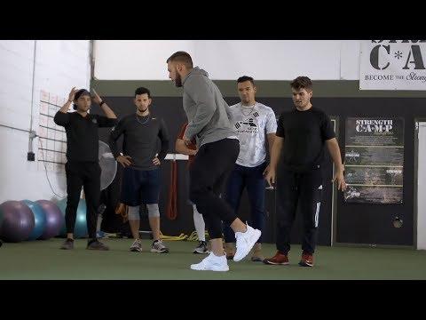 Explosive Leg Training for Athletes | Overtime Athletes