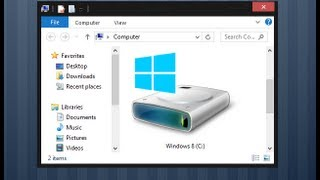 Windows 8   How to Create or Delete Partitions