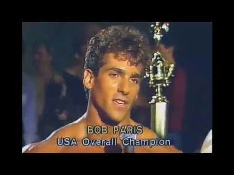 """Bob Paris - The Greek Statue that became flesh and blood. """"The Uncrowned Mr. Olympia"""""""
