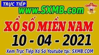 XSMN Thứ 7 - Trực Tiếp Xổ Số Miền Nam Hôm Nay Ngày 10/04/2021 | KQXSMN HOM NAY