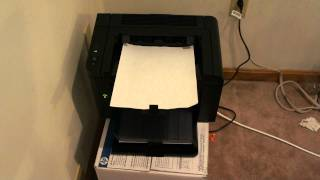 HP P1606dn LaserJet Network Duplex Printer Demo