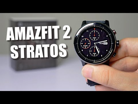 Xiaomi Huami Amazfit 2 Stratos (ENGLISH VERSION) - Best Sport Smartwatch under $200 in 2018?