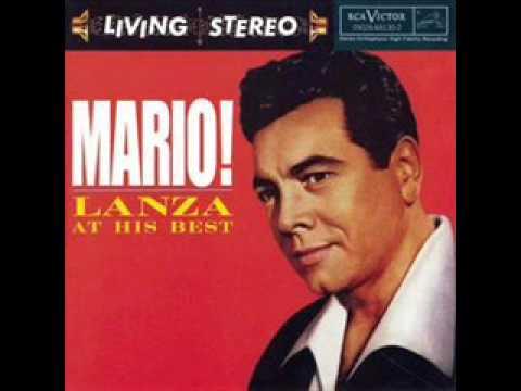 Mario Lanza - Tu ca nun chiagne (at his best)