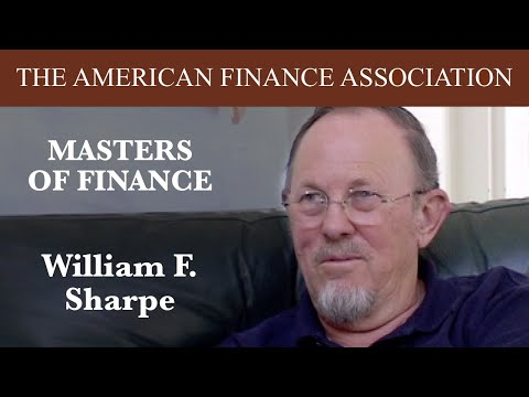 Masters of Finance: William F. Sharpe