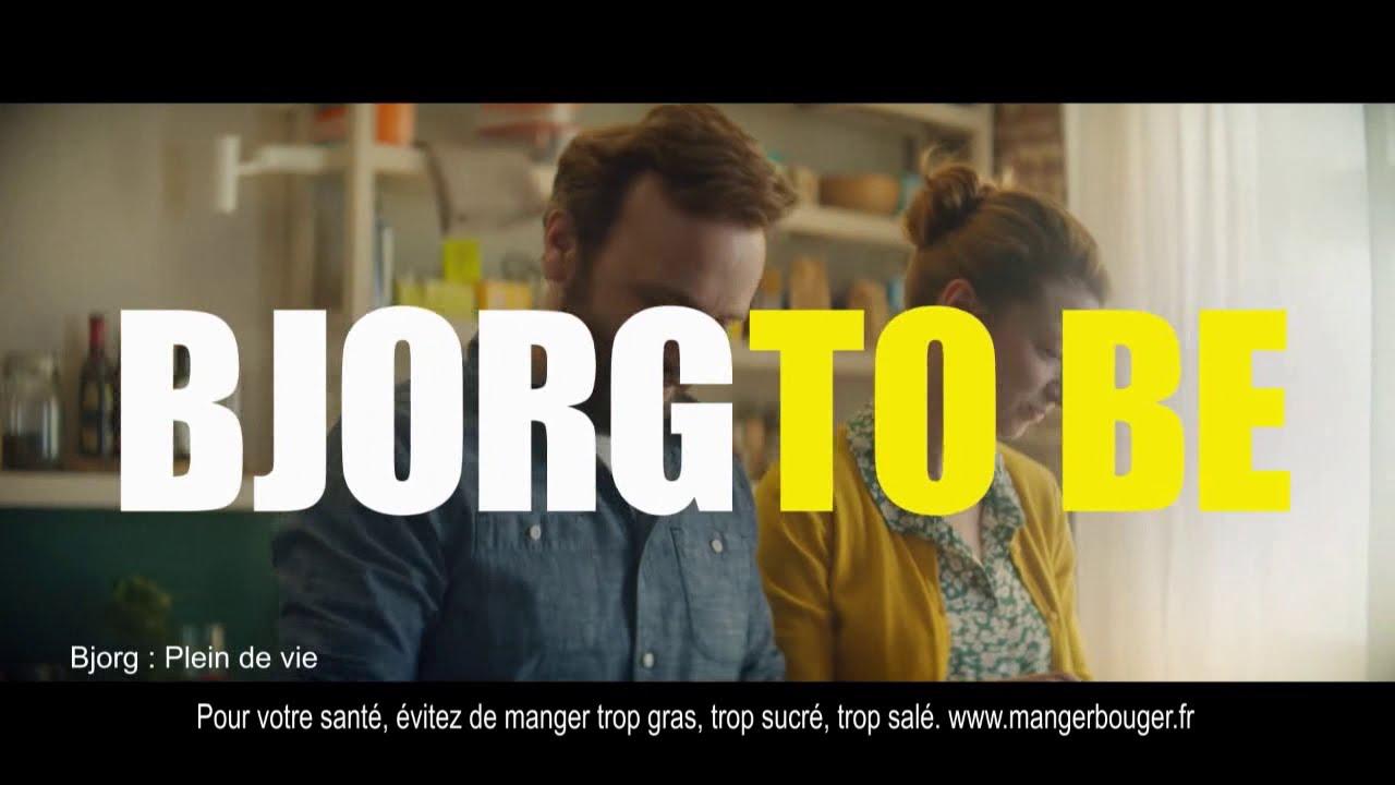 """Musique de la pub Bjorg – à table! """"Bjorg to be alive""""  2021"""