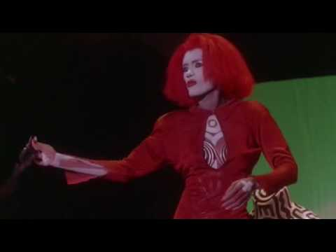 Grace Jones, dancing as Katrina in