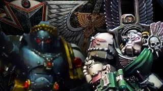 Battle Report (Extended) - Warhammer 40k (6th): Dark Angels vs Black Templars (2000pts)