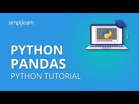 Python Pandas Tutorial | Pandas For Data Analysis | Python Pandas | Python Tutorial | Simplilearn