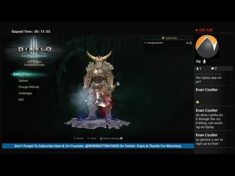 For Honor Beta Code Giveaway!! While Playing Diablo 3 ROS