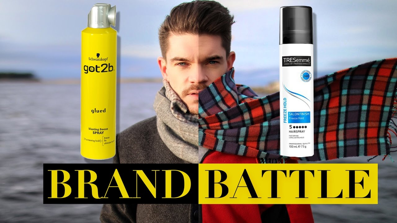 Got2b Glued Vs Tresemme Freeze Hold Hairspray Brand Battle Youtube