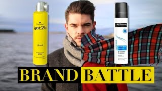 got2b glued vs. TRESemmé Freeze Hold Hairspray | Brand Battle