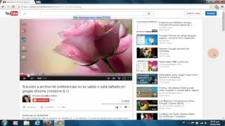 Ver videos en HTML5 en firefox. Windows 7 y 8.1 Noviembre 2014