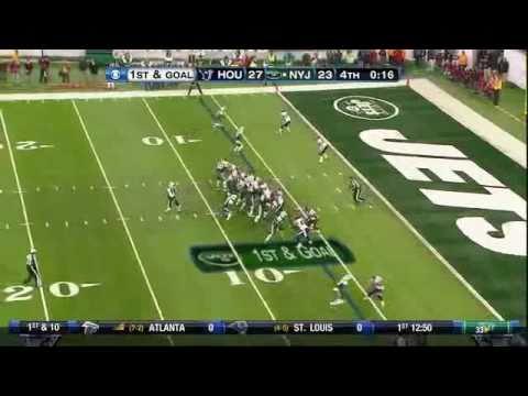 Santonio Holmes Game Winning Touchdown vs Houston Texans HD