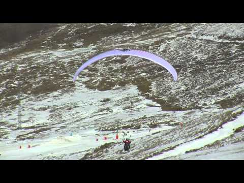 Training for Kilimanjaro flight in Lesotho