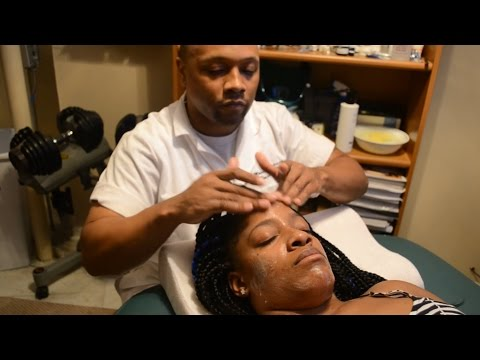 Dermaplaning  treatment for all skin types tutorial on youtube
