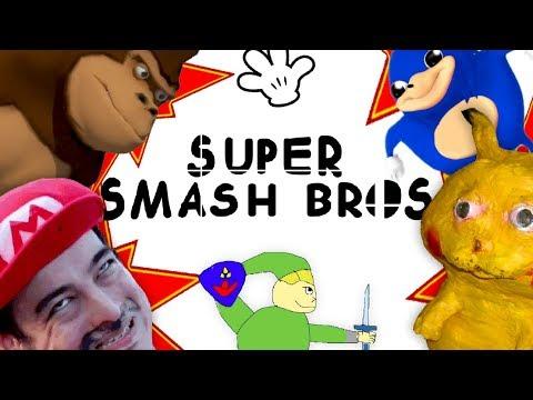 SUPER SMASH BROS para POBRES thumbnail
