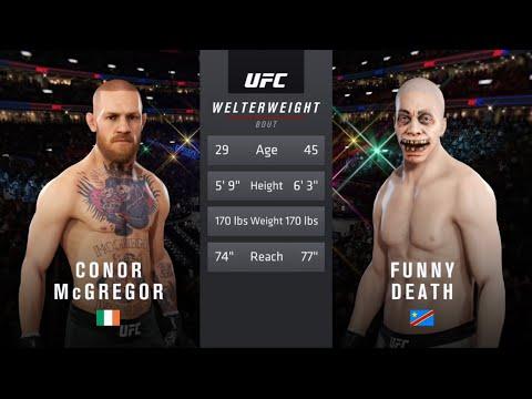 Conor McGregor Vs. Funny Death (EA Sports UFC 3)