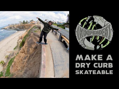 Build To Grind: How To Make A Dry Curb Skateable w/ Ace Pelka