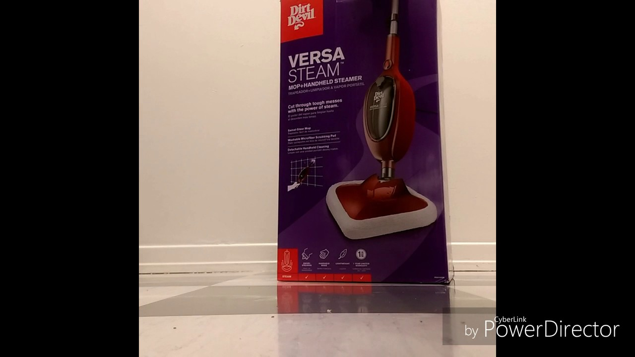 dirt devil versa steam mop manual
