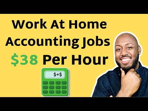 Work From Home Accounting Jobs & Bookkeeping From Home Jobs!