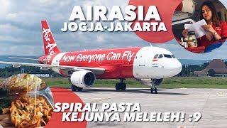 AIRASIA Jogja-Jakarta QZ7553 Rp.500ribuan Termurah di Rute ini, Mealnya Enaaak Banget!