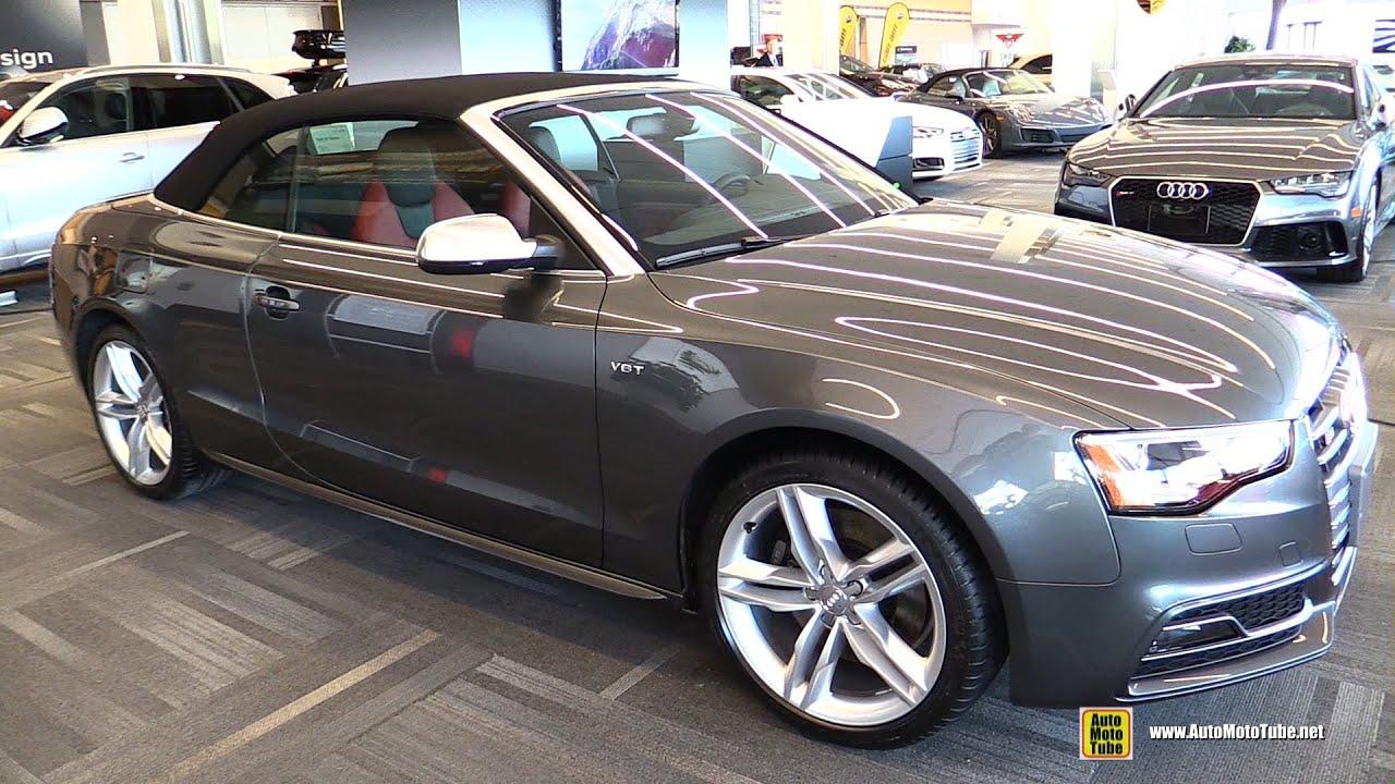 2016 Audi S5 Cabriolet Exterior And Interior Walkaround Ottawa Gatineau Auto Show