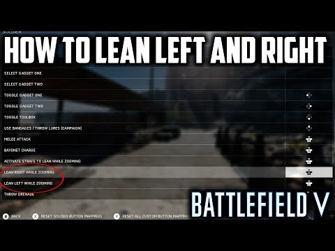 Battlefield V: How To Lean Left and Right - BFV Tips and Tricks