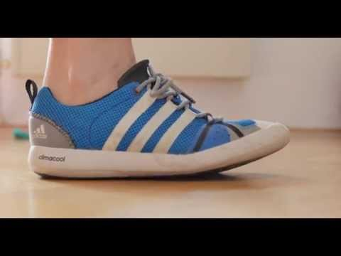 c67d446f9349fb Adidas ClimaCool Boat Lace Water Shoes Outdoor Summer Sneaker - YouTube