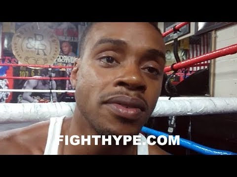 """ERROL SPENCE WARNS TERENCE CRAWFORD """"I'M COMING TO TAKE THAT BELT TOO""""; CLEANING UP ALL BLOCKS"""