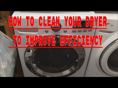 HOW TO CLEAN YOUR DRYER LINT TRAP AND EXHAUST VENT