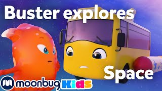 Buster the Rocket Bus Goes Space Exploring! | Go Buster | Stories & Kids Songs | Cartoons for Kids