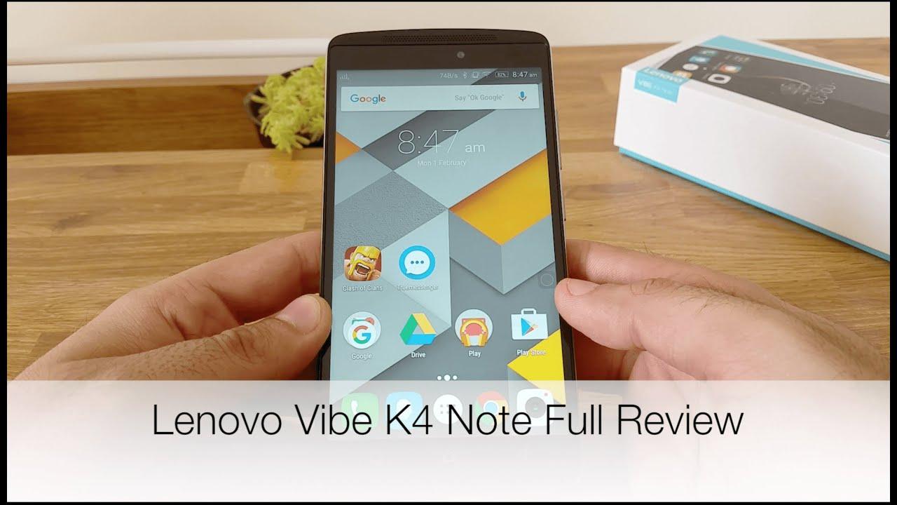 Lenovo K4 Note Review
