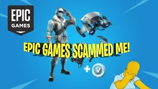 FORTNITE SCAM EXPOSED (DEEP FREEZE BUNDLE | EPIC GAMES SCAMMED ME)