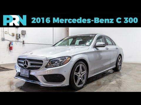 2016 Mercedes-Benz C 300 4matic Quick Tour & Review