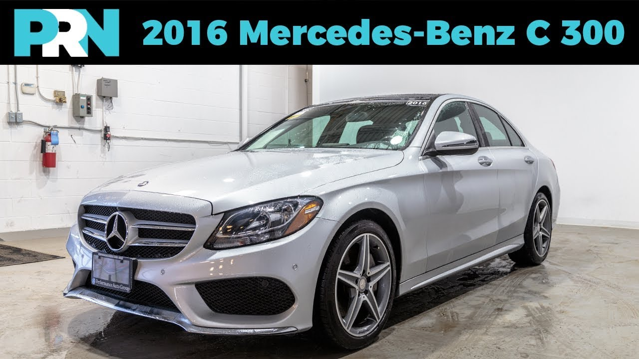 2016 Mercedes Benz C300 4matic Testdrive
