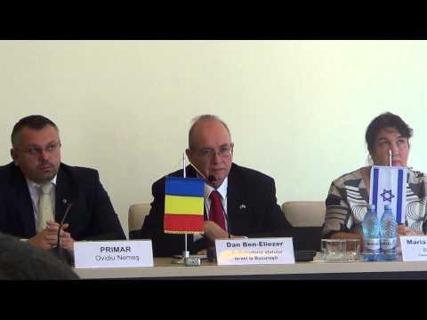 Dan Ben Eliezer, Ambasadorul Statului Israel la București conf sighet 1