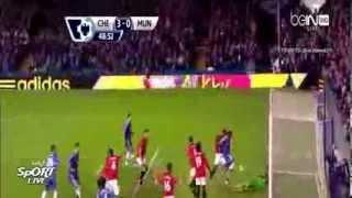 Hattrick Eto'o - Chelsea Vs Manchester United (3-1) - 19 Januari 2014