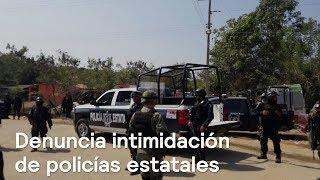 Enrique Alfaro, precandidato de MC en Jalisco, denuncia intimidación de policías estatales