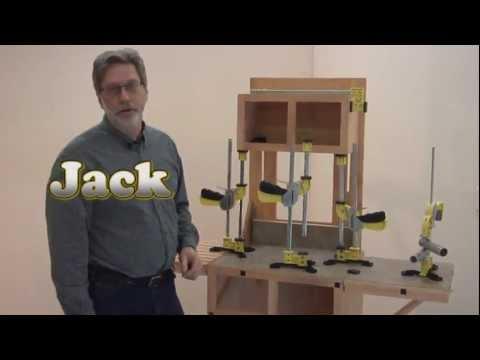 T-Jak cabinet jack - YouTube