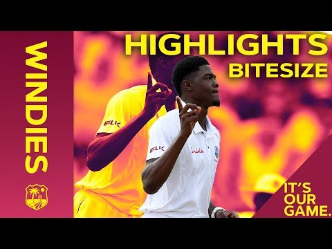 Windies vs England 1st Test Day 4 2019 | Bitesize Highlights