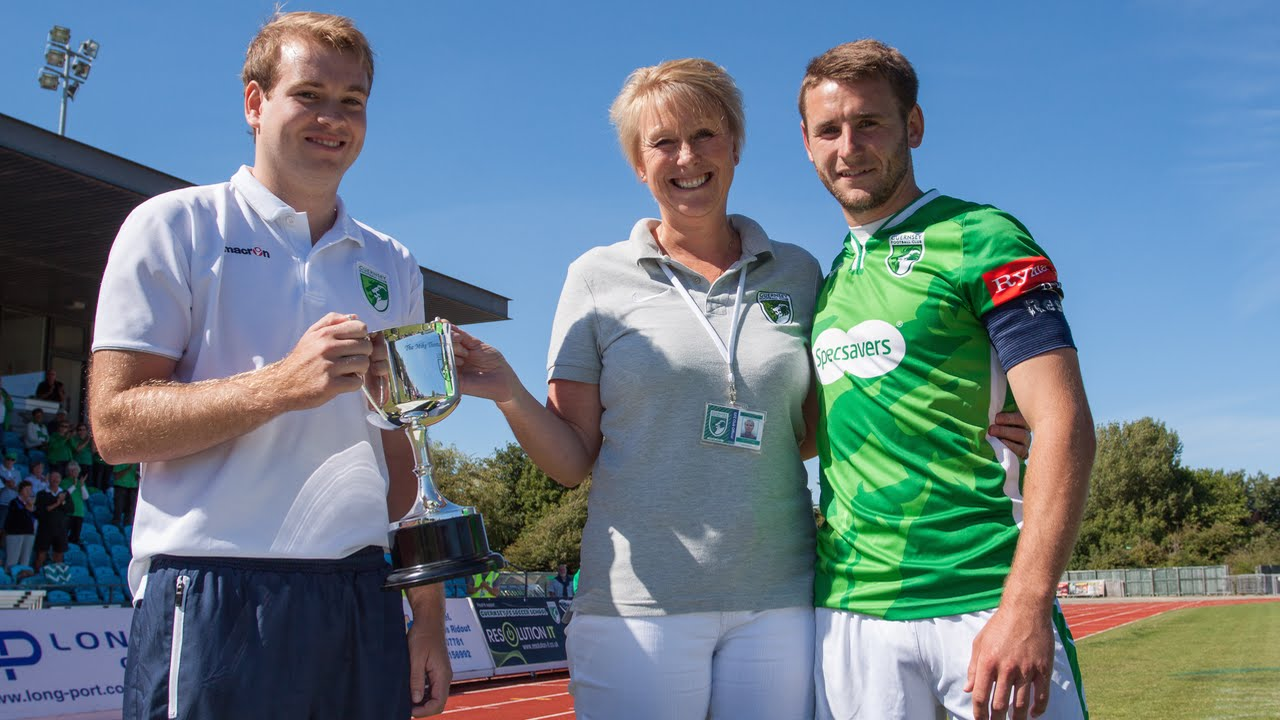 Guernsey FC win inaugural Mike Thomas Memorial Trophy ...