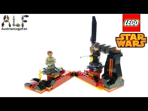 LEGO Star Wars 75269 Duel On Mustafar - Lego Speed Build Review