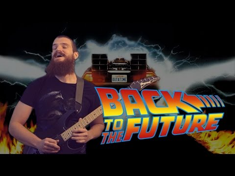 Back to the Future theme song | METAL GUITAR COVER mp3