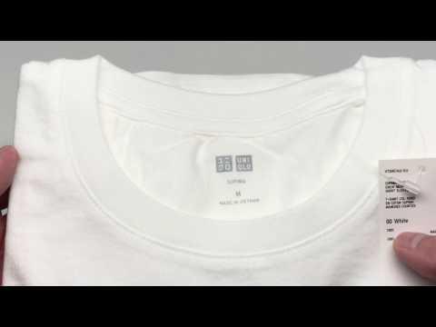 Uniqlo Men Supima Cotton Crew Neck Short Sleeve Tee White【4K】
